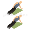 Упражнение «планка» на боку